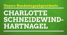 Link zur Bundestagsabgeordneten Charlotte Schneidewind-Hartnagel